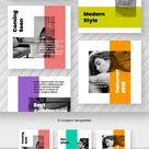 Angle  Kit Social Media Template #81565 - TemplateMonster