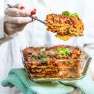 Vegetarische Lasagne mit Linsen 🇮🇹