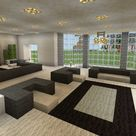 Minecraft Modern Living Room