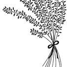 Lavender Flower Arrangement Coloring Pages - Download & Print Online Coloring Pages for Free