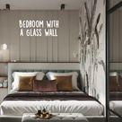Bedroom with GlassWall   Bedroom Inspirations   Bedroom Design   Bedroom Decor