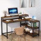 Orrville Workstation L-Shaped Computer Desk