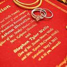 Our Nepali Wedding Card Wedding Interracialwedding Nepaliwedding Americanwedding Wedding Cards Interracial Wedding American Wedding