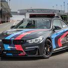 HD wallpaper black BMW car, MotoGP, Coupe, Safety Car, F82, 2015, mode of transportation