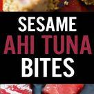 Sesame Seared Ahi Tuna Bites