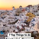 SANTORINI, Greece - The Best Things to do (Check our Free Travel Guide!)