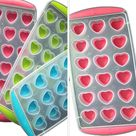 FRUIT HEARTS LIPS Ice Cube Makers | Love Chocolate Molds - Love-18 Cubes