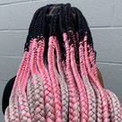 """Jada 💕Daily #braidinspo 💕 on Instagram: """"💕This set was custom and FUN!💕.  I am excited to create more cool ombré color styles this fall! 🙌🏽🙌🏽 Make sure you follow @braided_rebel…"""""""