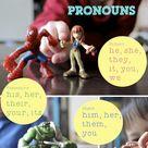 Teaching Pronouns