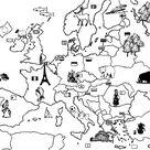 Kleurplaat Europa  7