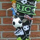 selbstgebastelte Fußball Schultüten