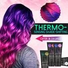 Thermochromic Color Changing Hair Dye - Jade green