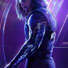 Bucky Barnes Winter Soldier original artistic poster Marvel comic TV oil paint style 2021 print