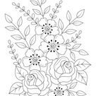 Flowers Nature Adult Coloring Page   Woo Jr. Kids Activities