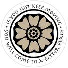 White Lotus Tile - Avatar  Sticker by mac taylor