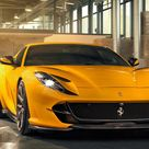 Yellow Ferrari 812 Superfast 2019 4K Ultra HD Mobile Wallpaper