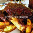Slow-Roasted Leg of Lamb (The Greek Way)   Kalofagas.ca