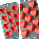 FRUIT HEARTS LIPS Ice Cube Makers | Love Chocolate Molds - Love-11 Cubes