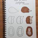 Vogel Auf Einem Vogelhaus | Cute Easy Drawings, Easy