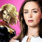 Does Marvel Want Emily Blunt as 'Captain Marvel'?
