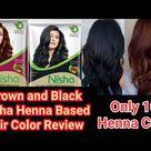 Nisha henna based hair color review|| How to apply Nisha Henna ₹ 10 ||
