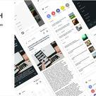 Notch – Android News Application 2.0 | Codelib App