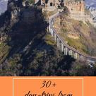 30 best day trips from Rome Italy by train: ideas for outdoors and history lovers
