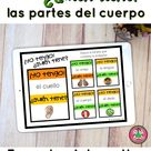 ¡Yo tengo! ¿Quién tiene? Spanish Body Parts