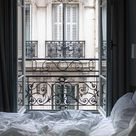 Paris Photography Parisian Bedroom Parisian Window Bedroom   Etsy