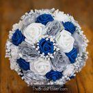 Royal Blue Flowers