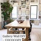 Gallery Wall DIY -  COCOCOZY Design House
