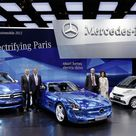 Mercedes Celebrated Three Battery Electric Drive Vehicle Premieres in Paris   eMercedesBenz