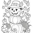 Kleurplaat herfst: 56 gratis simpele en moeilijke herfst kleurplaten