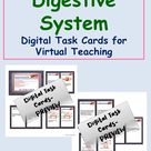 Digital Task Cards on Digestive System of Human Body   Distance Learning   Virtual Teaching