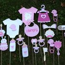Pink Baby Showers