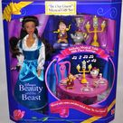 Mattel Disney Beauty and The Beast Be Our Guest Musical Gift Set 1993 for sale online | eBay