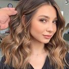 Best Hair Colours To Look Younger : Bronze on brown hair