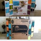DIY 3D trifold display board. Industrial revolution w/pop out museum floors & double sided turning info cards. Inventor on one side, invention on back... - a grouped images picture