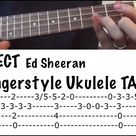 PERFECT (Ed Sheeran) Fingerstyle Ukulele TUTORIAL