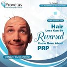 Hair Loss Can Be Reversed Know More About PRP