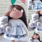 Interior Art Doll Custom Made Doll by Photo Fabric Cloth | Etsy