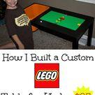 Lego Activity Table