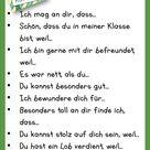 Komplimente schenken- nette Worte und Komplimente für die Mitschüler - Learn German With Fun
