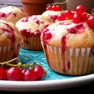 Muffins mit roten Johannisbeeren - Carl Tode Göttingen