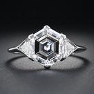 Hexagon Engagement Ring