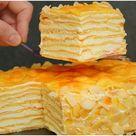 Kekskuchen mit Sahne in 15 Minuten fertig !