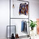 CASUAL - clothes rack with double and shoerail / liebwut - urban interior