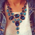 Blue Statement Necklaces