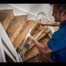Treppe renovieren mit Treppenlehre - Schritt für Schritt Anleitung   wolfcraft