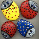 Ladybug Rocks